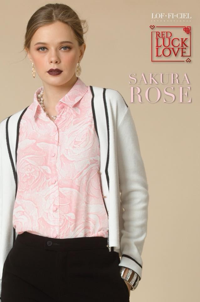 Business Shirt-Sakura Rose(FQ1VPI)