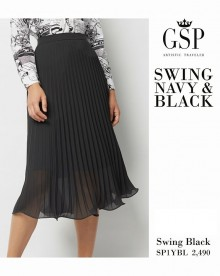 CREPE TWILL SKIRT SP1YBL