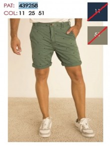 TROUSERSCOTTON BERMUDAS     043925825