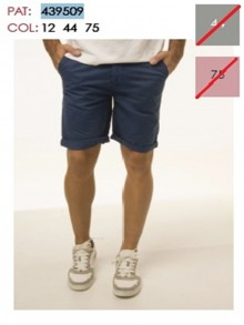 TROUSERSCOTTON BERMUDAS     043950912