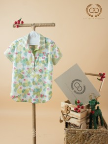 Apple Scent Cotton Nano Blouse (CC5OYE)