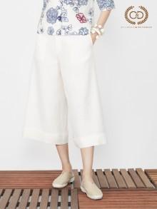 Big Bell Premium Linen Pants (CL1AWH)