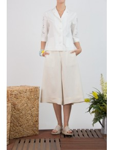 Big Bell Premium Linen Pants (CL3KBE)