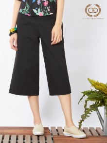 Charlie Cotton Black Pants (CO12BL)