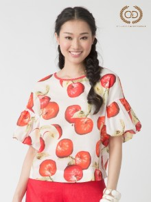 Apple Scent Premium Cotton Blouse (CO1BRE)
