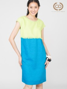Color Box Premium Linen Dress (CO2AGR)