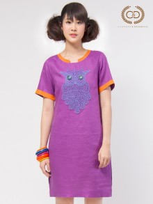 Color Box Premium Linen Dress (CO2LDV)