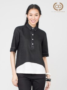 B&W Premium Linen Shirt  (CO37BL)