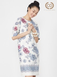 Chamomile Premium Linen Dress (CO3BLB)