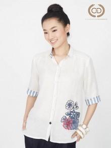 Chamomile Premium Linen Shirt (CO3JLB)