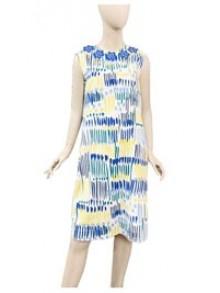 Angel Fish Linen Cotton Dress (CS4QYE)