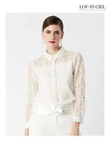 Lace Shirt(FL5KWH)