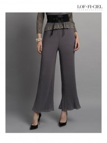 Pleat Bell Pants(FO1CGY)