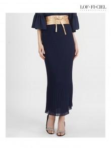 Pleat Bell Skirt(FO1LLB)