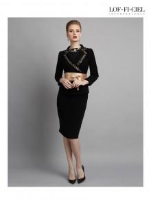 Business Skirt - Pencil Skirt (FP3FBL)