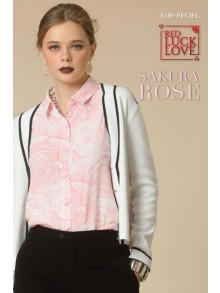Business Shirt-Sakura Rose(FQ1VPI)