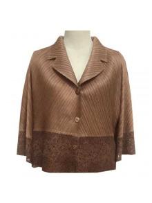 Pleat Jacket Blouse (FR12BE)