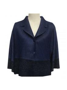 Pleat Jacket Blouse (FR12NV)