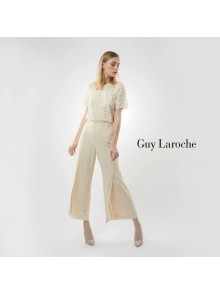 Luxury Lace Crop Blouse (GP56CR)