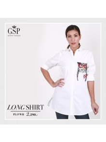 BASIC COTTON SHIRT PL1VWH