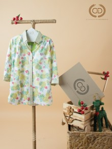 Apple Scent Cotton Nano Blouse (CC5PYE)