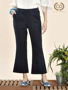 Boot-cut Linen Premium Pants (CQ31NV)